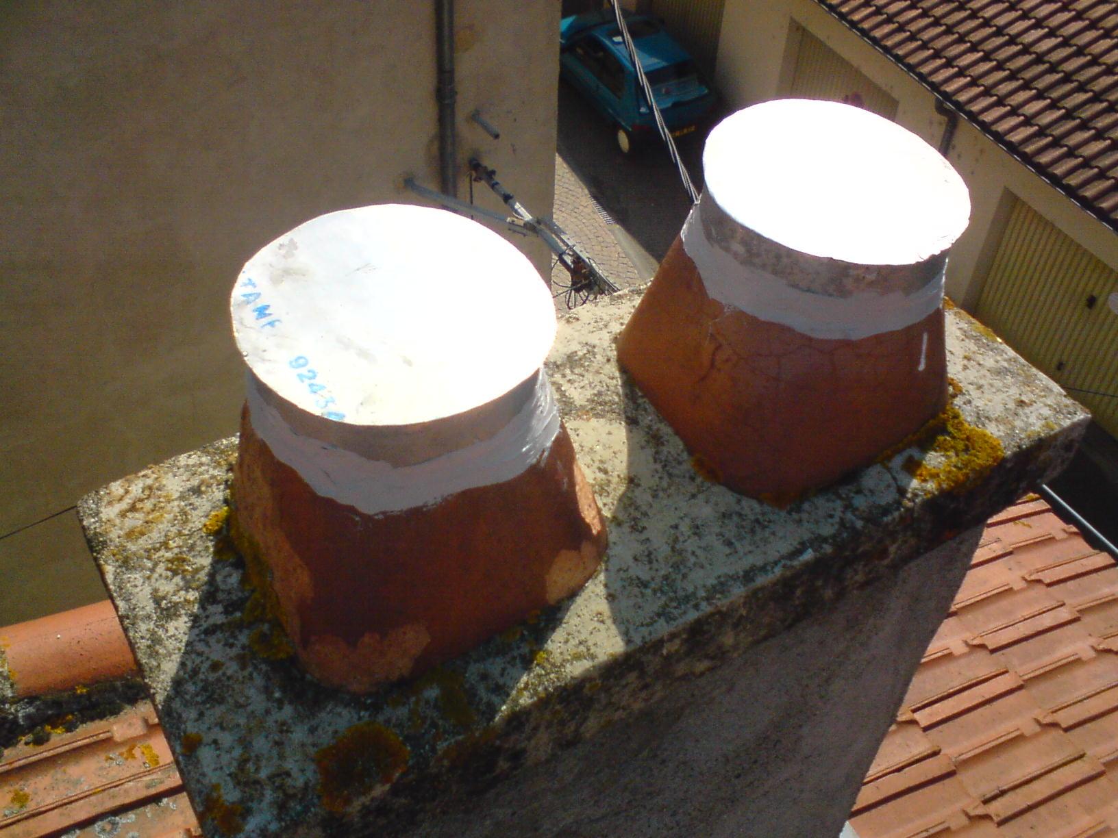 Chapeau de cheminee tdzing - Chapeau pour conduit de cheminee ...